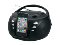 Jensen JISS-120I Jensen jiss-120i iphone(r)/ipod(r) portable docking digital cd music system
