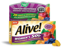 Alive Women's 50+ Multivitamin - Multimineral - Nature's Way - 50 - Tablet