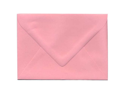 Blossom / Light Pink Euro Flap A7 Envelopes (5 1/4 x 7 1/4) - 25 envelopes  per pack