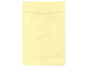 Light Yellow 6 x 9 Open End (No Clasp) Envelopes - 25 envelopes per pack