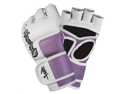Hayabusa Tokushu 4oz MMA Gloves White/Dk Orchid SM