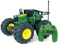 TOMY John Deere Tractor Remote Control Monster Truck Farm Toy (Green)