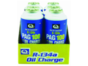 R-134a With PAG Oil Charge