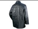 Giovanni Navarre Italian Stone Design Genuine Leather Jacket