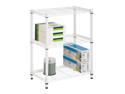 3 Tier White Shelving Unit- 250Lb