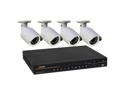 Q-see QC808-461-1 8 Channel NVR w/1TB HDD, 4 x HD 720P PoE IP Cameras w/ONVIF Compatible
