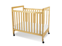 Foundations SafetyCraft Fixed-Side Clearview Compact Crib