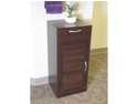 Bathroom 1 louvered door/1 drawer base cabinet