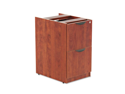 Alera Valencia File/File Drawer Full Pedestal, 15-5/8 x 20-1/2 x 28-1/2, Medium Cherry