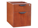 Alera Valencia Series 3/4 Box/File Pedestal, 15-5/8 x 20-1/2 x 19-1/4, Medium Cherry