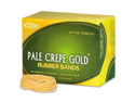 Alliance Rubber Pale Crepe Gold Rubber Bands 669 EA/BX