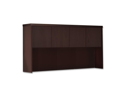 Mayline Aberdeen Series AHW72LDC Aberdeen Series Laminate Wood Door Hutch, 72w x 15d x 39 1/4 h, Mocha