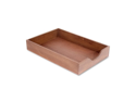 Carver Hedburg Genuine Walnut Desk Tray 12 EA/CT