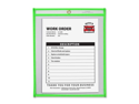 C-line Neon Colored Stitched Shop Ticket Holder 15 EA/BX