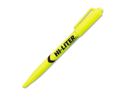 HI-LITER Pen Style Highlighter, Chisel Tip, Fluorescent Yellow Ink, 12/Pk