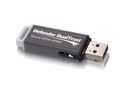 Kanguru Defender DualTrust KDFDT 8 GB USB 2.0 Flash Drive - Gray