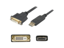AddOn - Accessories Displayport to DVI Active Adapter Cable - Male to Female