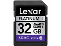Lexar Platinum II 32 GB Secure Digital High Capacity (SDHC)