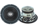 Lanzar - Vibe 12'' 4 Ohm 1600 Watt Chrome Subwoofer