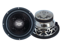 Lanzar - Vibe 15'' 2000 Watt Dual 4 Ohm Chrome Subwoofer