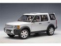 2005 Land Rover Discovery 3 1/18 Silver