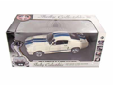 1967 Shelby GT 500E Eleanor Chase Car 1/18 White w/Blue Stripes