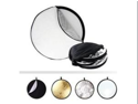 """43"""" 5-in-1 Multi Photo Multi Collapsible Disc Reflector Kit"""