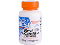 Doctor's Best Best L-Carnitine Fumarate Sigma Tau Carnitine (855 mg)  60 Capsules