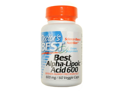 Doctor's Best Best Alpha-Lipoic Acid (600 mg)  60 Capsules