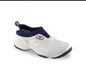 Propet Men's M3851 Wash & Wear Slip-on,White/Navy,11 M (US Men's 11 D)