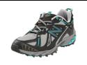 New Balance Women's WT610 Trail Running Shoe,Grey/Teal,6.5 D US