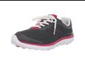 New Balance Women's WW695 Walking Shoe,Dark Grey/Dark Pink ,7 B US