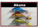"""Lot of 3 2.9"""" Bass Pike Trout Fishing Lure Bait Bait C"""