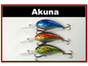 """Lot of 3 Deep Diver 4.3"""" Bass Pike Fishing Lure Bait C"""