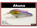 "[FLA 118] 3.5"" Hand Painted Holographic Fishing Lure Crankbait With Matching Feather Tails And Choice Of Great Colors"