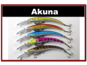 "Lot of 5 5.9"" Deep Diving Pike Bass Fishing Lure Bait B"