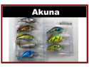 "8 Pack 2.9"" Bass Pike Trout Fishing Lure Bait Crankbait"