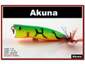 "[FLA 147] 2.3"" Hand-Painted Holographic Topwater Fishing Lure Popper Tackle Matching Feather Tails And Choice Of Great Colors"