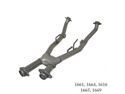 BBK Performance 1661 High Performance X-Pipe Assembly