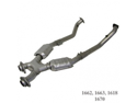 BBK Performance 1663 High Performance X-Pipe Assembly