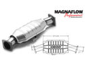 MagnaFlow California Converter 36430 Direct Fit California Catalytic Converter