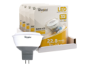 Whirlpool LED 35 Watt Replacement MR16/GU5.3 Spot Bulb - 5 Pack