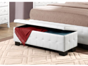 Storage Bench in White by Homelegance