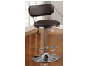 Swivel Bar Stool in Chrome by Poundex