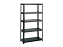 "36"" Wide 24"" Deep Boltless Shelving in Black by Safco"