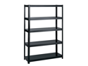 """48"""" Wide 24"""" Deep Boltless Shelving in Black by Safco"""