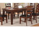 Classic Dining Table in Antique Finish by Poundex