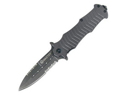 Mastiff Assisted, Gray Aluminum Handle, ComboEdge