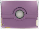 Apple iPad 2/ 3 Standing 360 Degree Puple Leather Case