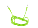 iPod/iPhone/iPhone 3G/iPhone 4/CDMA/4S/iTouch 4 Auxiliary Cable Green
